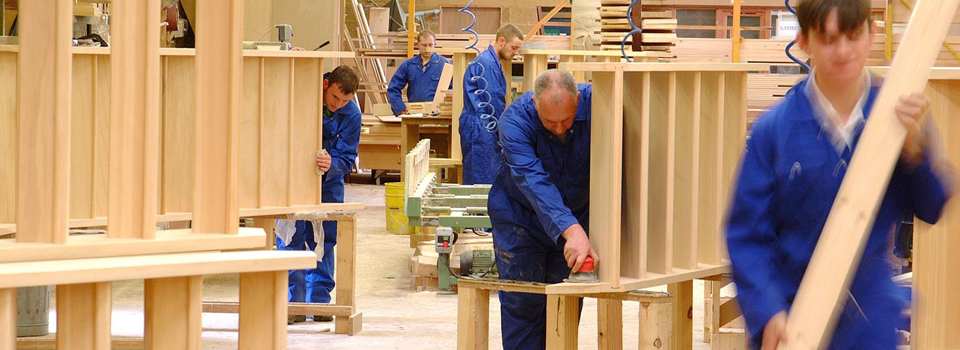 Timber Components staircase manufacturing